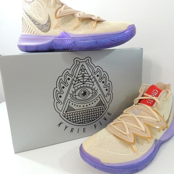 be23daa7d2f7 Nike Mens Kyrie 5 Concepts Ikhet TV PE3 Celtics